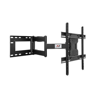 "North Bayou Single Arm Full Motion Cantilever TV Wall Mount with Built-in Cable Management for LED, LCD & Plasma TVs Size 40"" to 70"" (NBSP2)"