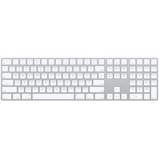 Apple Apple Wireless Bluetooth Magic Keyboard with 10 Key Numeric Keypad - A1843 (MQ052LL/A) - Silver