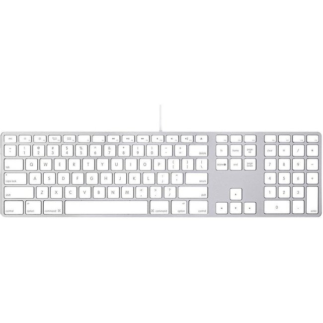 Apple Aluminum Wired Keyboard - A1243 (MB110LL/A)