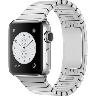 Apple Apple Watch - Series 2 - 38mm - GPS - Stainless Steel/Stainless Steel Link Bracelet