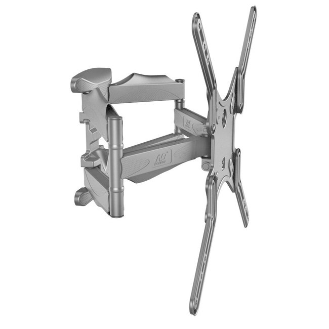 """Full Motion Cantilever Dual Arm Articulating TV Wall Mount for 32"""" to 60"""" Flat Screen TVs (P5)"""