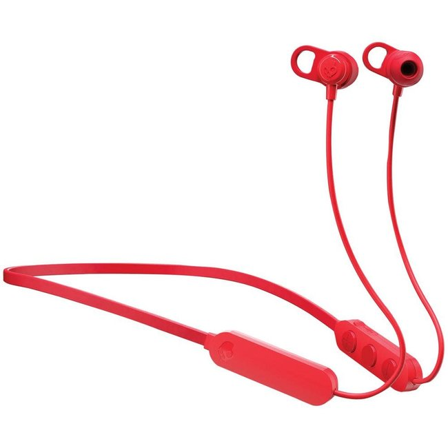 Skullcandy® S2JPW-M010 Wireless Bluetooth Earbuds (Black and Red)