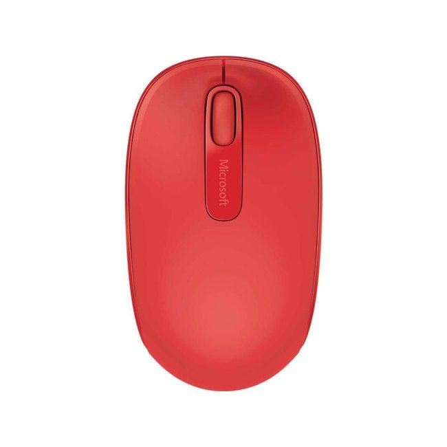 Microsoft Wireless Mobile Mouse 1850 - Flame Red