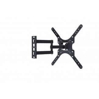 "Full Motion Single Arm Articulating Monitor Wall Mount for 32"" to 55"" Flat Screen TVs and Monitors (180100)"