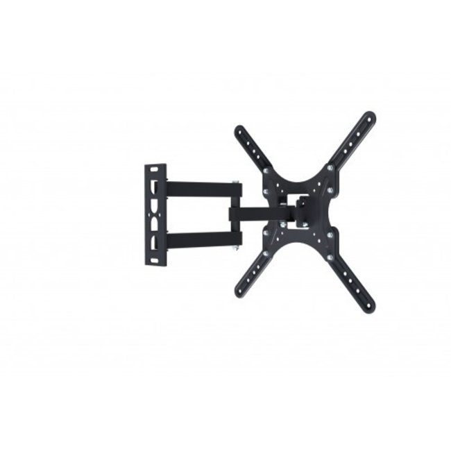 """Full Motion Single Arm Articulating Monitor Wall Mount for 32"""" to 55"""" Flat Screen TVs and Monitors (180100)"""