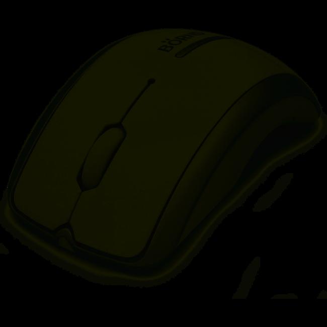 Bornd Arc Wireless Optical Mouse - C160 (White)