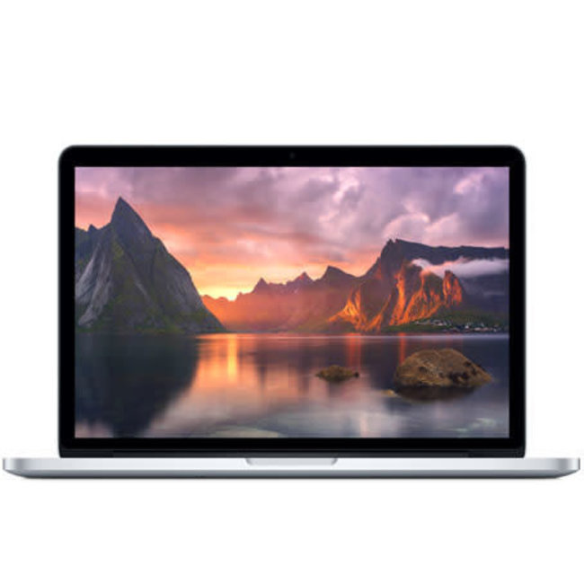 "Apple MacBook Pro Retina 15.4"" Laptop - 2.2GHz Quad-Core i7 - 16GB RAM - 256GB SSD - (2014) - Silver"