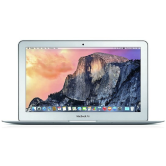 "Apple Apple MacBook Air 11.6"" Laptop - 1.4GHz Dual-Core i5 - 4GB RAM - 128GB SSD - (2014) - Silver"