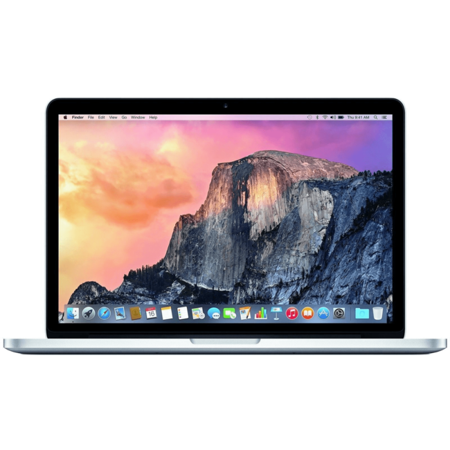 "Apple MacBook Pro Retina 13.3"" Laptop - 2.4GHz Dual-Core i5 - 4GB RAM - 128GB SSD - (2013) - Silver"