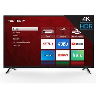 "TCL 65"" TCL 4K UHD (2160P) LED SMART TV WITH HDR - (65S421)"