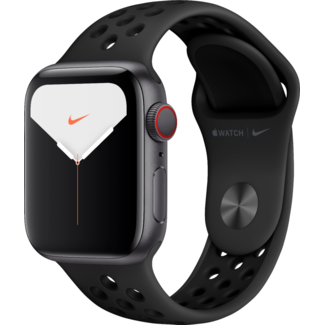 Apple Apple Watch NIKE+ - Series 5 - 40mm - Cellular - Space Gray Aluminum/Anthracite & Black Sport Band