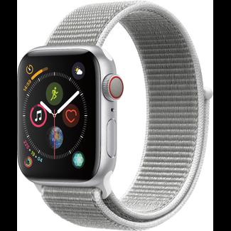 Apple Apple Watch - Series 4 - 40mm - Cellular - Silver Aluminum/Seashell Sport Loop
