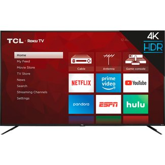 "TCL 75"" TCL 4K UHD (2160P) LED SMART TV WITH HDR - (75S421)"
