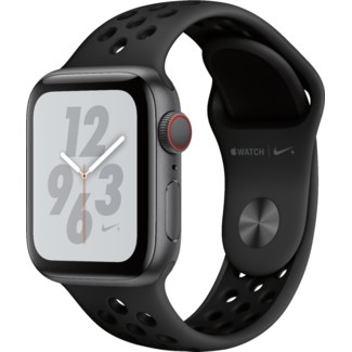 Apple Apple Watch NIKE+ - Series 4 - 40mm - Cellular - Space Gray Aluminum/Anthracite & Black Sport Band