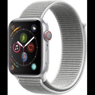 Apple Apple Watch - Series 4 - 44mm - Cellular - Silver Aluminum/Seashell Sport Loop
