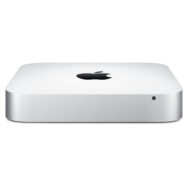 Apple Mac Mini Desktop Computer - 2.8GHz Dual-Core i5 - 8GB RAM - 1.12TB Fusion Drive - (2014) - Silver