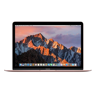 "Apple Apple MacBook Retina 12"" Laptop - 1.2GHz Dual-Core M3 - 8GB RAM - 256GB SSD - (2017) - Rose Gold"