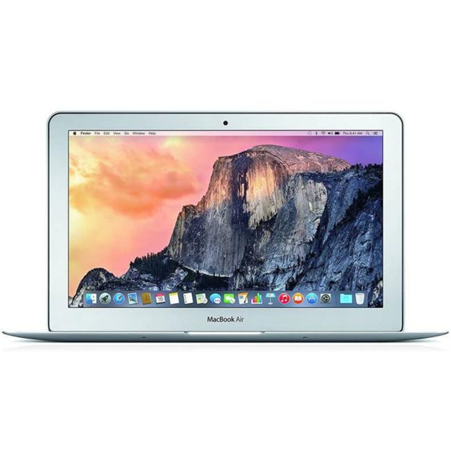 "Apple MacBook Air 11.6"" Laptop - 1.6GHz Dual-Core i5 - 4GB RAM - 256GB SSD - (2015) - Silver"