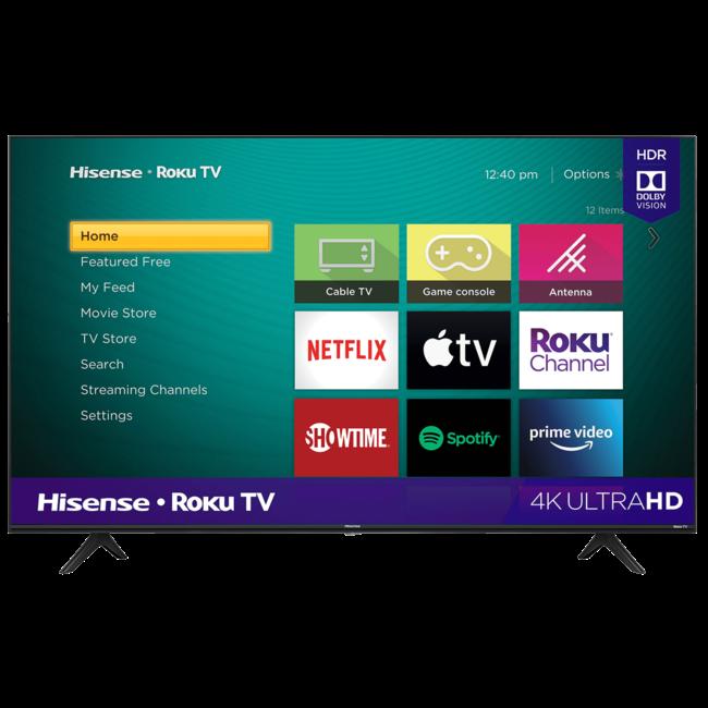 """65"""" Hisense 4K UHD (2160P) LED SMART TV WITH HDR - (65R6090G))"""
