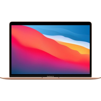 """Apple Apple MacBook Air Retina 13.3"""" Laptop with Touch ID - 1.1GHz Quad-Core i5 - 8GB RAM - 512GB SSD - (2020) - Gold"""