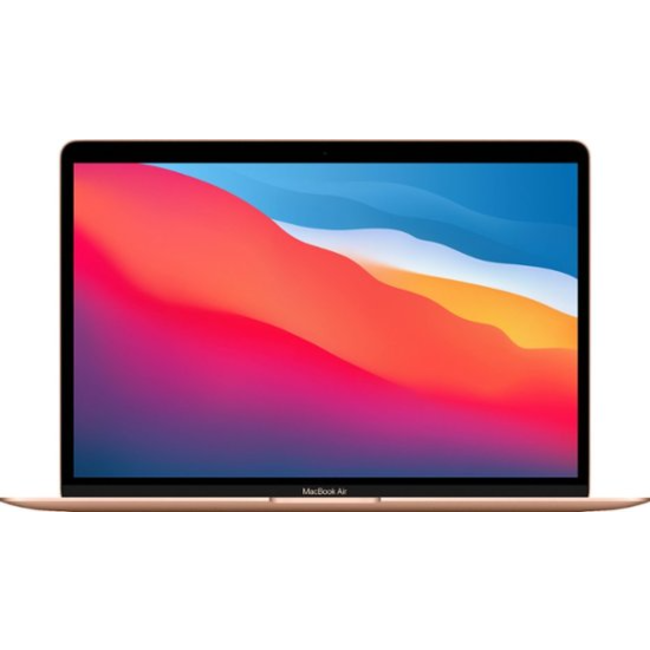"""Apple MacBook Air Retina 13.3"""" Laptop with Touch ID - 1.1GHz Quad-Core i5 - 8GB RAM - 512GB SSD - (2020) - Gold"""