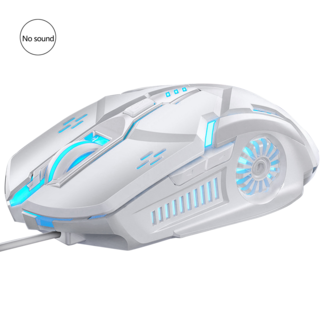 Wired Gaming Mouse w/ Color Changing RGB Function - (G5)