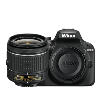 Nikon D3400 Video Camera with 18-55mm Lens Bundle