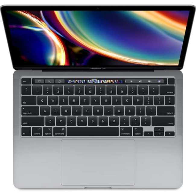 """Apple MacBook Pro Retina 13.3"""" Laptop with Touch Bar - 2.0GHz Quad-Core i5 - 16GB RAM - 512GB SSD - (2020) - Space Gray"""