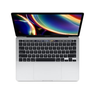 """Apple Apple MacBook Pro Retina 13.3"""" Laptop with Touch Bar - 2.0GHz Quad-Core i5 - 16GB RAM - 1TB SSD - (2020) - Silver"""