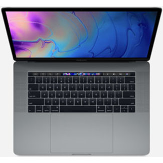 "Apple Apple MacBook Pro Retina 15.4"" Laptop with Touch Bar - 2.2GHz Six-Core i7 - 16GB RAM - 256GB SSD - AMD Radeon Pro 555 (4GB) - (2018) - Space Gray"