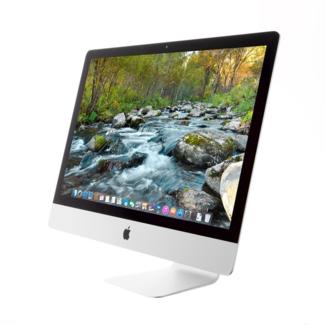 "Apple Apple iMac 5K Retina 27"" Desktop - 3.0GHz Six-Core i5 - 8GB RAM - 2.5 TB Fusion Drive - AMD Radeon Pro 570X (4GB) - (2019) - Silver"