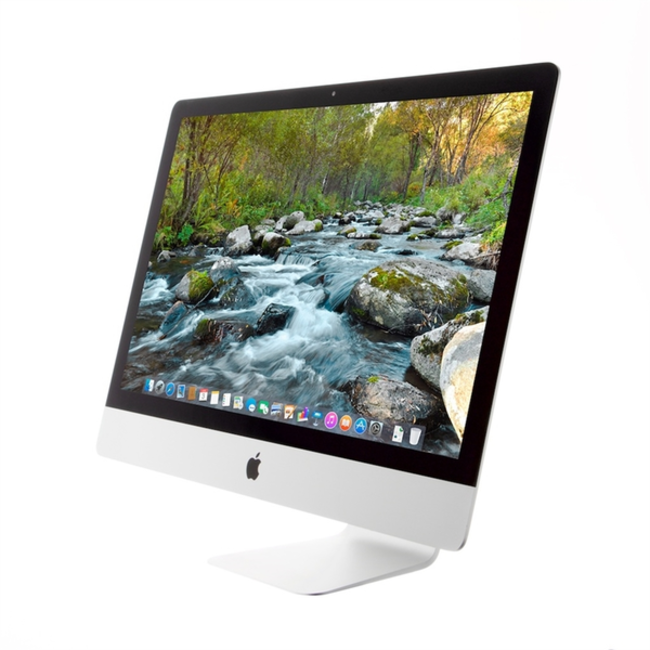 "Apple iMac 5K Retina 27"" Desktop - 3.0GHz Six-Core i5 - 8GB RAM - 2.5 TB Fusion Drive - AMD Radeon Pro 570X (4GB) - (2019) - Silver"