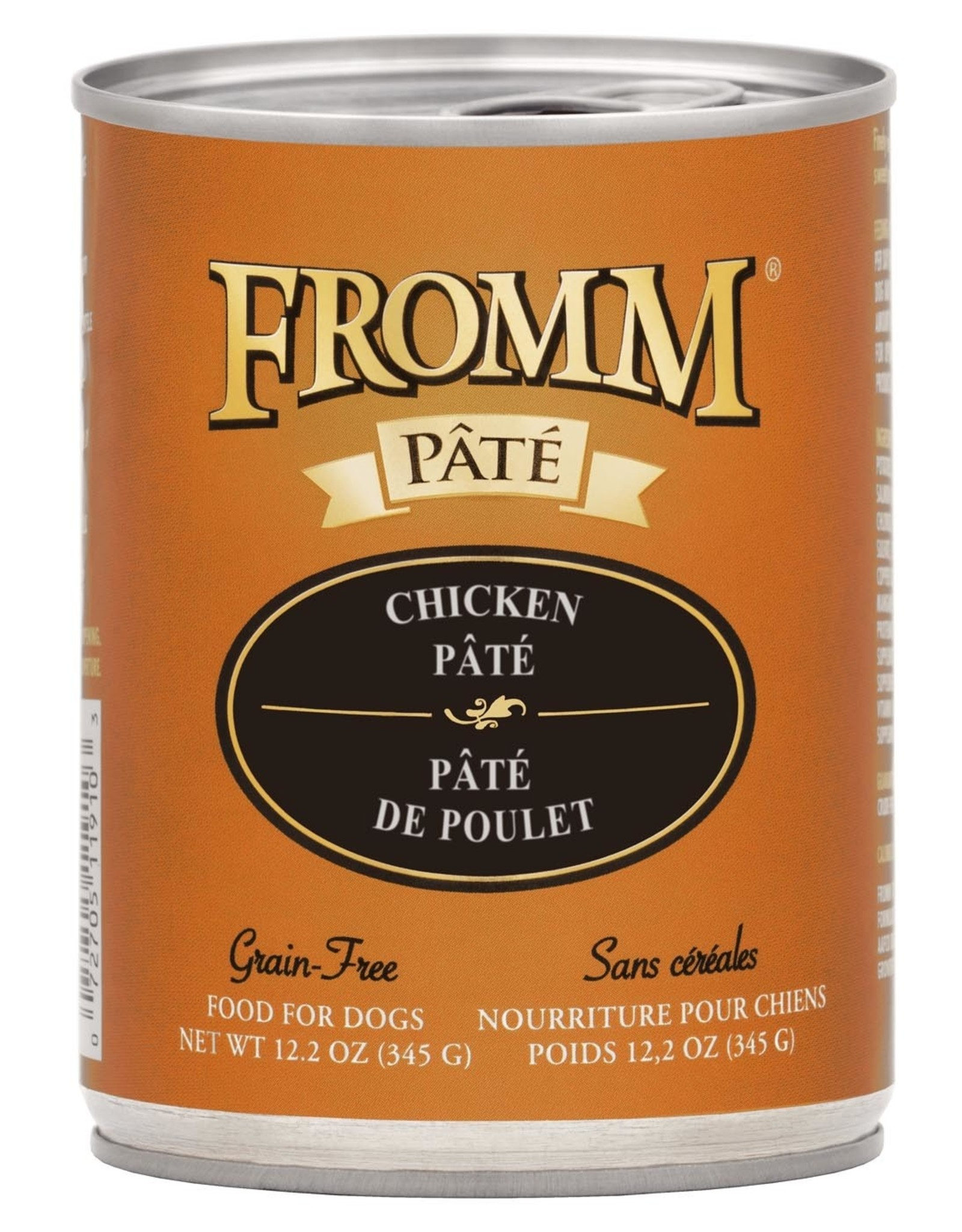 Fromm Fromm Grain Free Chicken Pate: Can, 12.2 oz