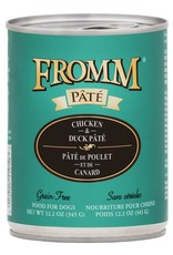 Fromm Fromm Grain Free Chicken & Duck Pate: Can, 12.2 oz