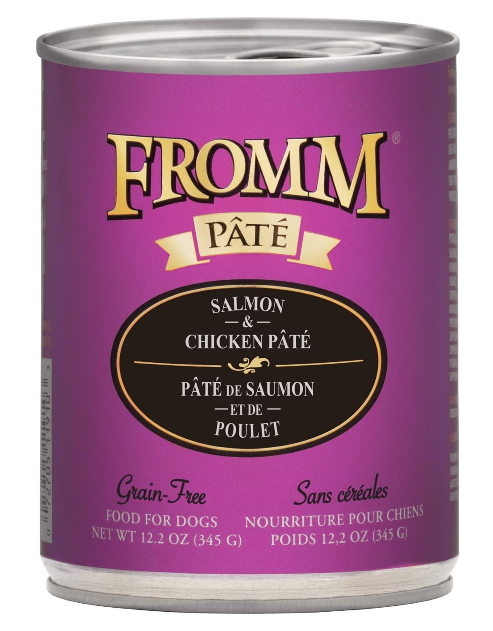 Fromm Fromm Grain Free Salmon & Chicken Pate: Can, 12.2 oz