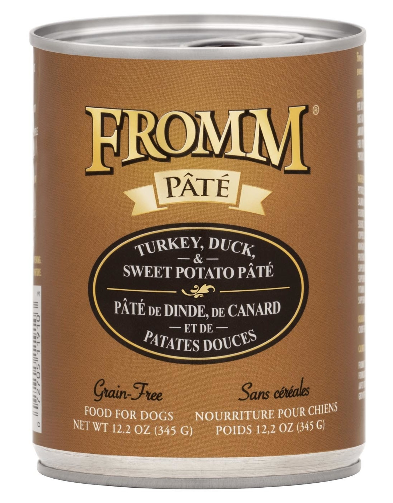 Fromm Fromm Grain Free Turkey & Duck Pate: Can, 12.2 oz