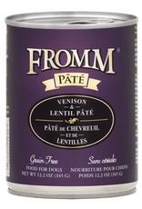 Fromm Fromm Grain Free Venison & Lentil Pate: Can, 12.2 oz