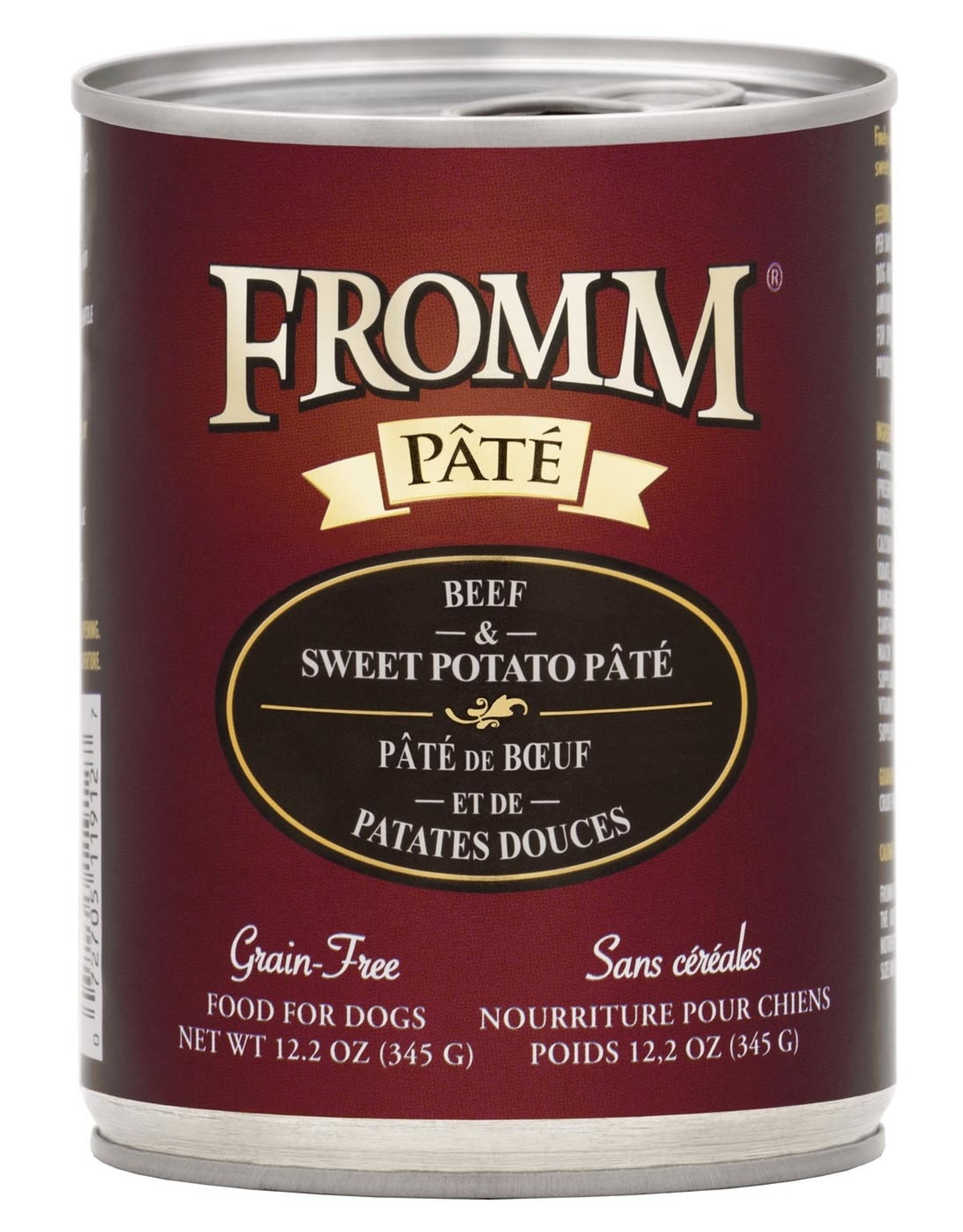 Fromm Fromm Grain Free Beef & Sweet Potato Pate: Can, 12.2 oz