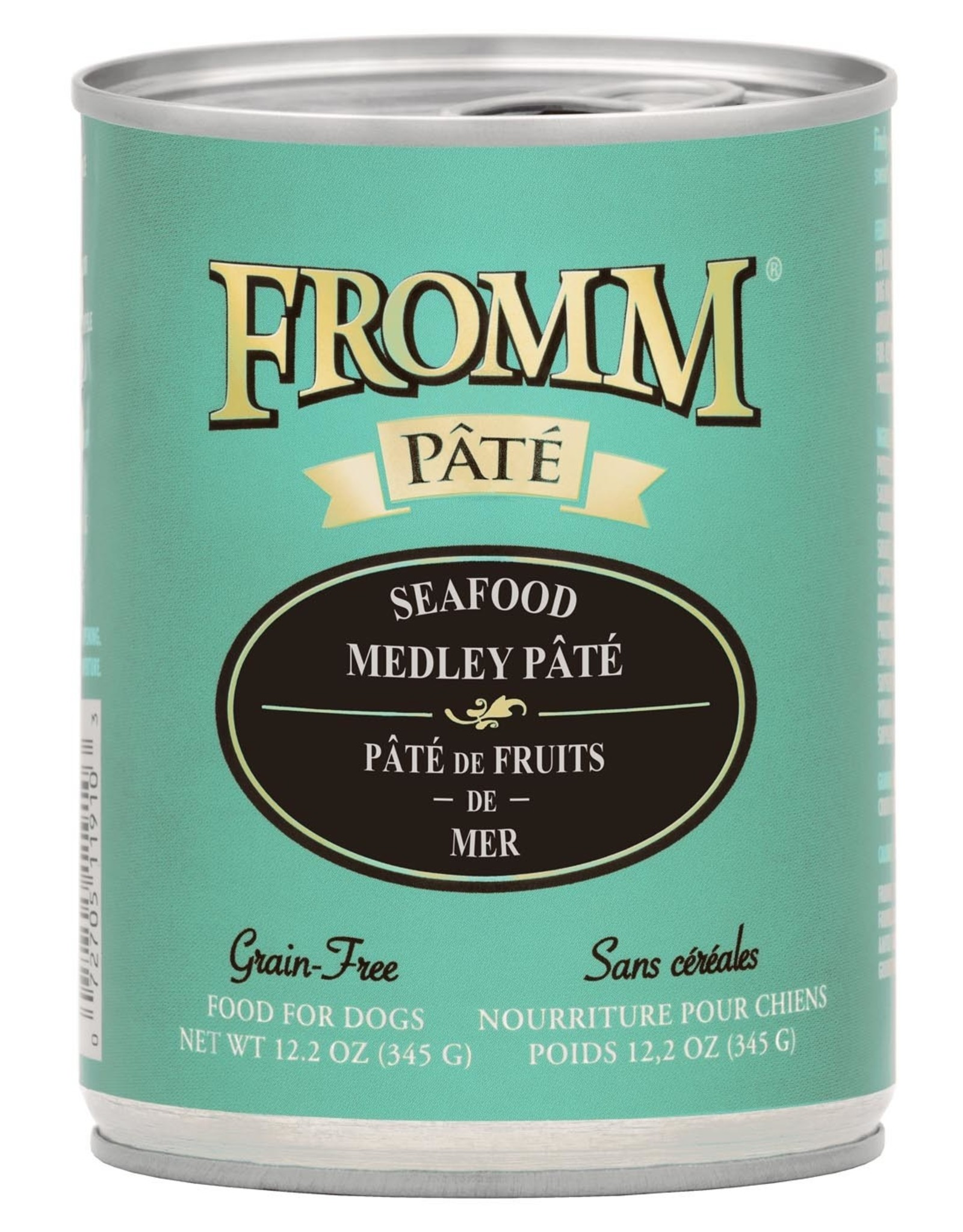 Fromm Fromm Grain Free Seafood Medley Pate: Can, 12.2 oz