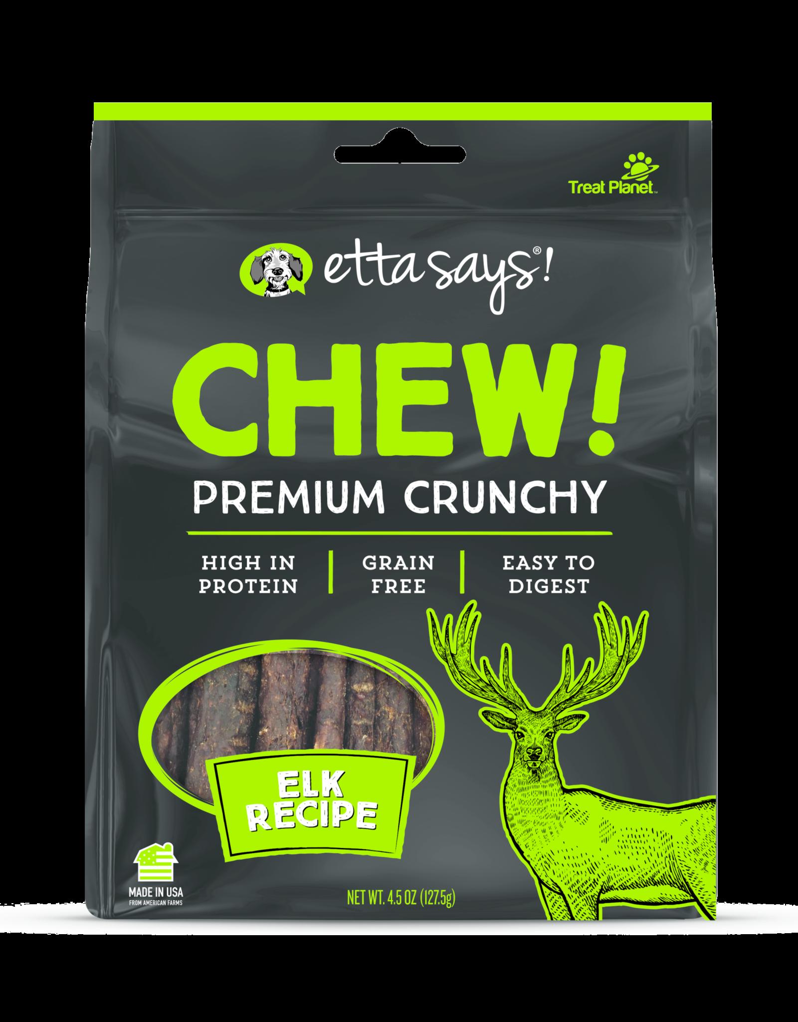 Etta Says Etta Says! Chew! : Elk, 4.5 oz