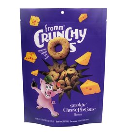 Fromm Fromm Crunchy O's: Smokin' Cheeseplosions, 6 oz