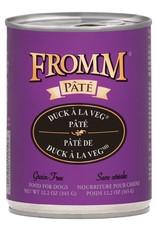Fromm Fromm Grain Free Duck A La Veg Pate: Can, 12.2 oz
