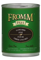 Fromm Fromm Grain Free Game Bird Pate: Can, 12.2 oz