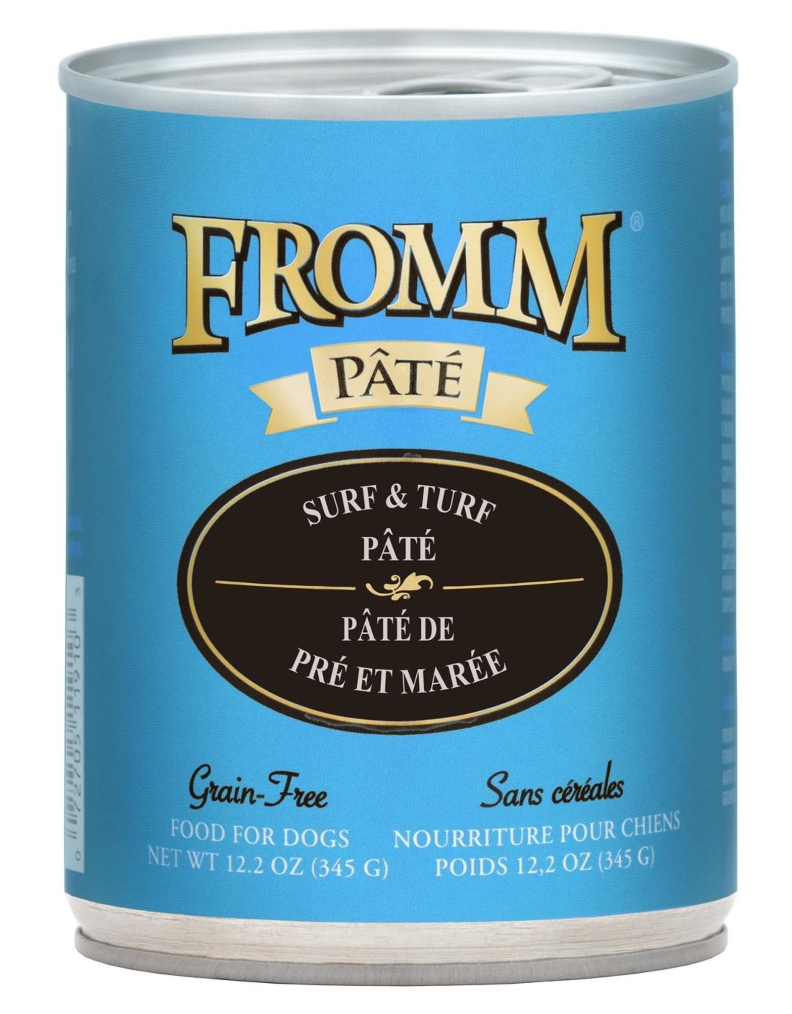 Fromm Fromm Grain Free Surf & Turf Pate: Can, 12.2 oz
