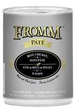 Fromm Fromm Beef, Chicken & Oats Pate: Can, 12.2 oz