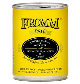 Fromm Fromm Chicken, Salmon & Oats Pate: Can, 12.2 oz