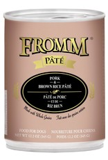Fromm Fromm Pork & Brown Rice Pate: Can, 12.2 oz