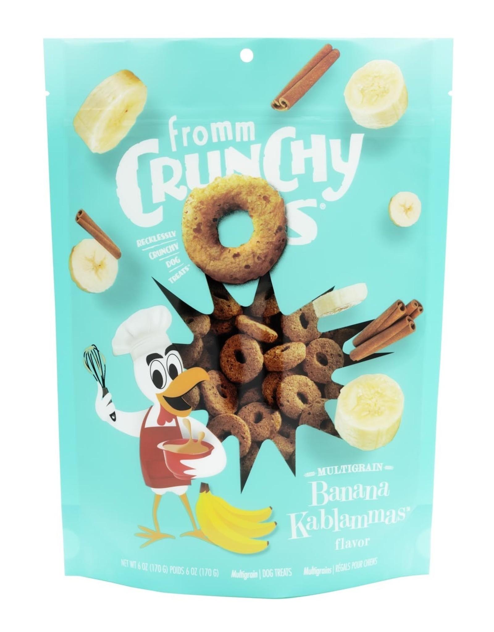 Fromm Fromm Crunchy O's: Banana Kablammas, 6 oz