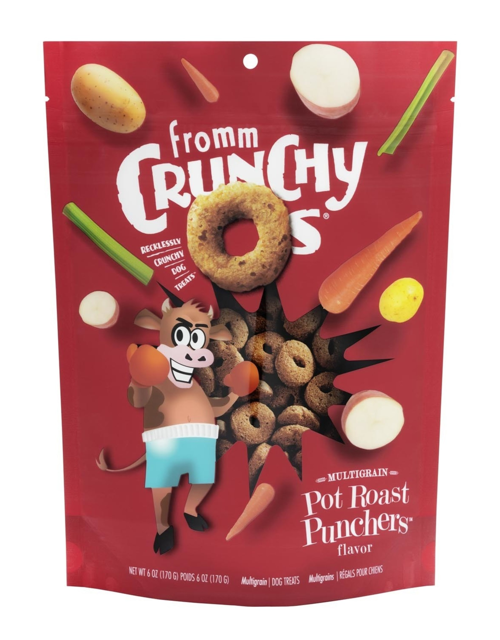 Fromm Fromm Crunchy O's: Pot Roast Punchers, 6 oz