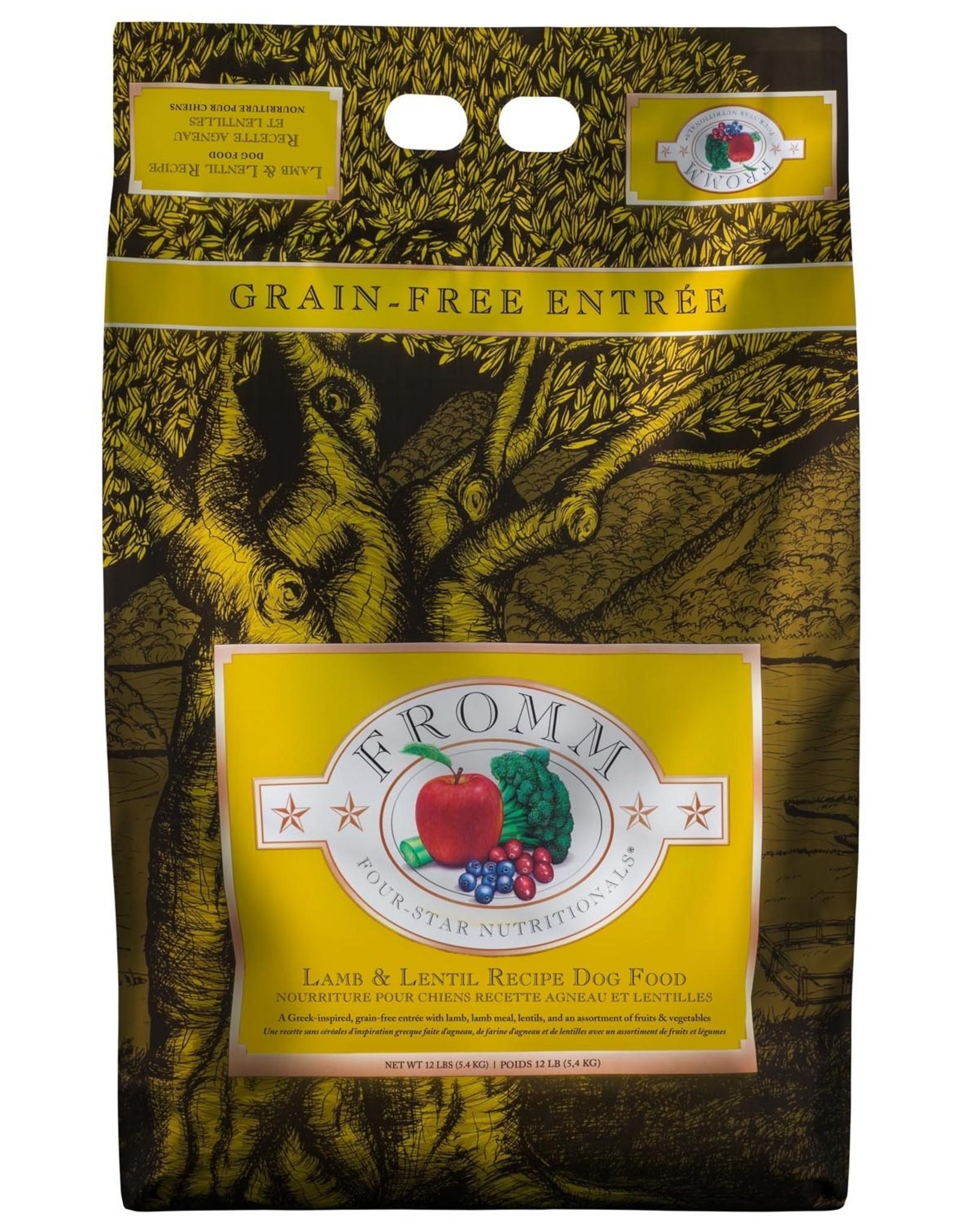 Fromm Fromm Four Star Lamb & Lentil